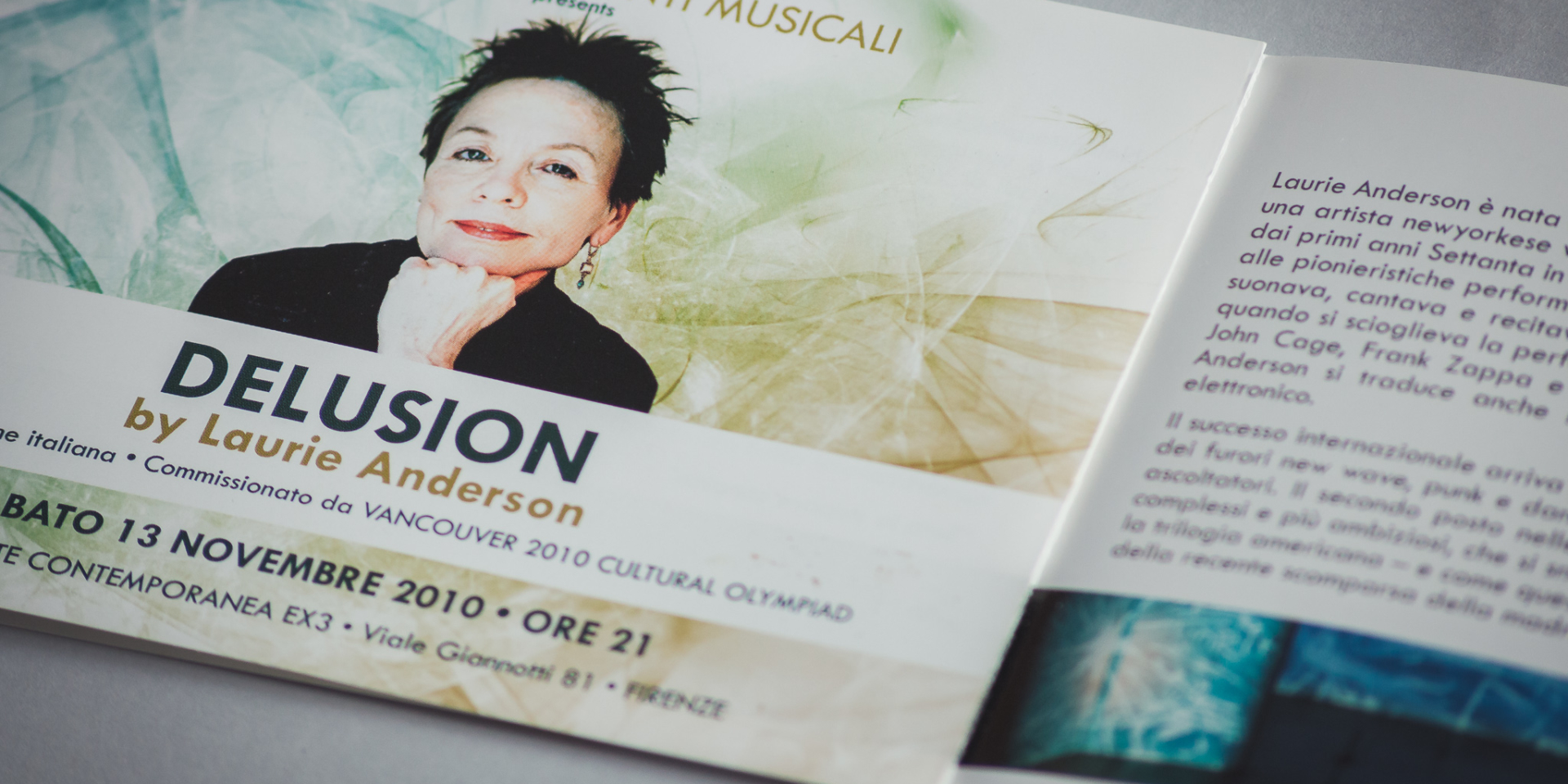 Delusion by Laurie Anderson